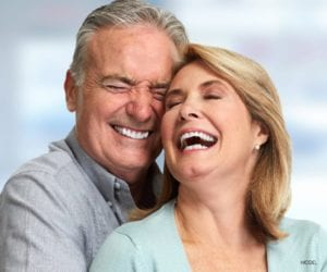 Laughing Older Couple